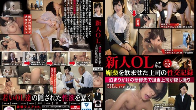 NZK-012 porn xxx Boss Makes New Businesswoman Take Aphrodisiac And Fucks Her vol. 02