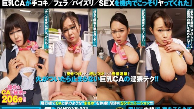 """DANDYVR-003 japanese porn [VR] A Long Length Situation """"I'm Sorry For Having Big Tits"""" This Unattainable Flower Big Tits Cabin"""