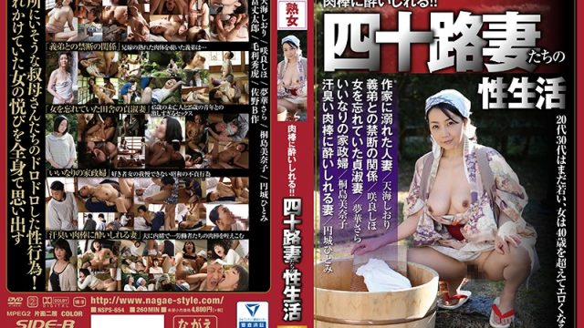NSPS-654 hot jav Hitomi Enjoji Sara Yumeka Drunk For Cocks!! The Sex Lives Of Forty-Something Wives Women In Their Twenties And Thirties Are