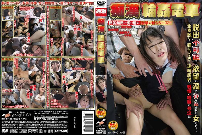 NHDTA-428 japanese porn Molester Gang Bang On A Train