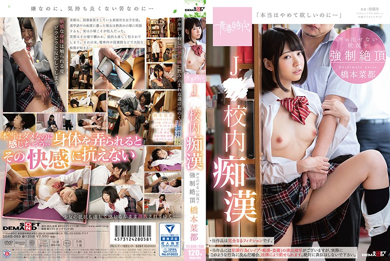 SDAB-065 free porn streaming Molester in the J School Forced to Orgasm Without Making a Sound Natsu Hashimoto