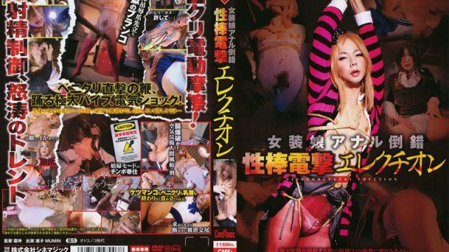 CMF-007 jav watch The Cross Dresser's Anal Perversion Electric Dick Erection