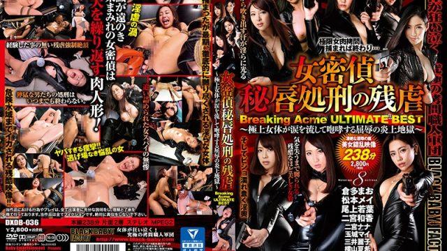 DXDB-036 xxx jav Nana Ninomiya Mei Matsumoto The Cruel Punishment Of A Woman's Virtue Breaking Acme Ultimate Best Hits Collection – These