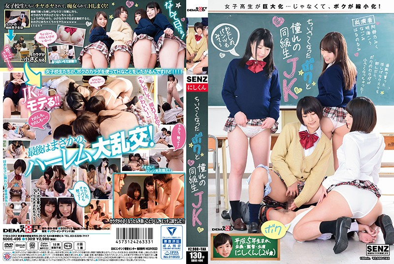 SDDE-496 jav movies I Was Shrunken Down And Now I'm With My Favorite Classmate JK