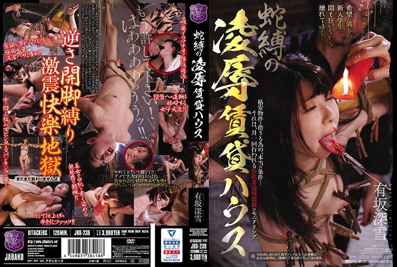 JBD-239 JavLeak Bondage Torture & Rape Rental House Miyuki Arisaka