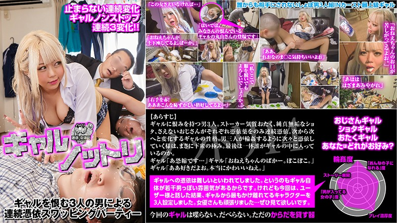 NTTR-014 Javout Gal Possession. 3 Men Who Hate Gals Have Possessed Swapping Parties