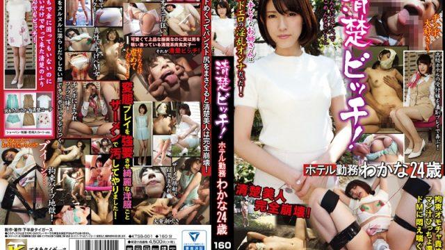 KTSB-001 japanese jav Neat and Clean Bitch! Hotel Staffer Wakana, 24 Years Old