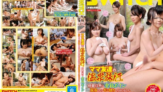SW-343 javtube I Went On A Spa Inn Trip With My Mother And Her Friends. Everyone Except My Mom Had Huge Tits…And