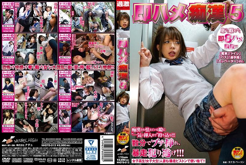 NHDTB-013 japanese tube porn Quickie Molester 5