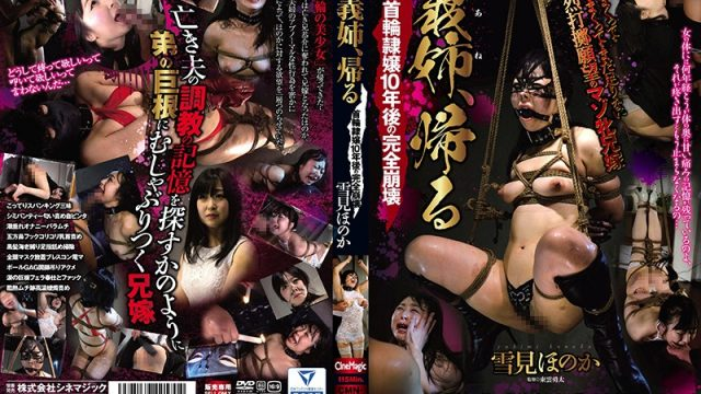 CMN-170 free jav Sister-in-Law Comes Home: Collared Female Slave, Completely Destroyed After 10 Years – Honoka Yukimi