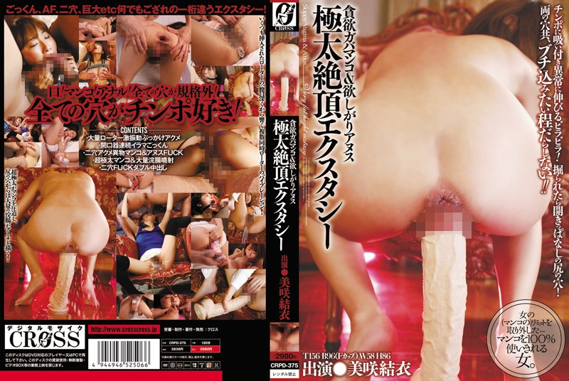 CRPD-375 japanese pron Greedy, Hungry Pussy and Lusty Ass in Big Orgasmic Ecstasy Yui Misaki