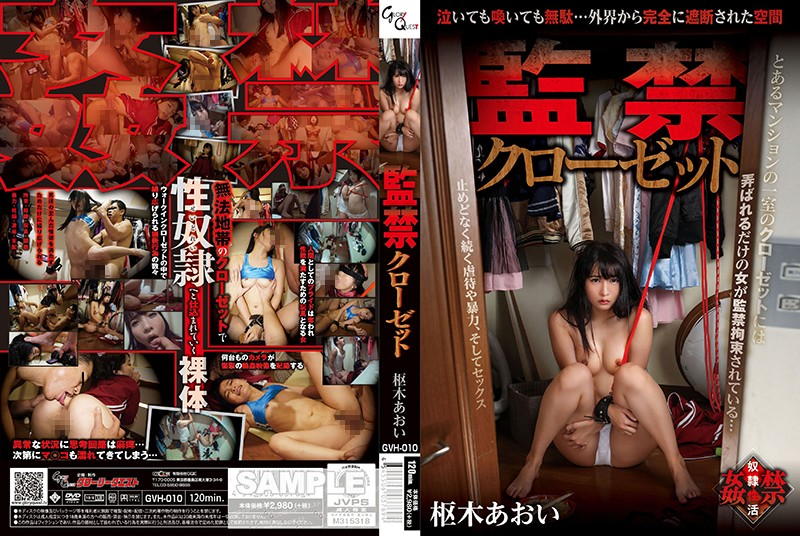 GVH-010 VJav Confinement Closet, Aoi Kururugi
