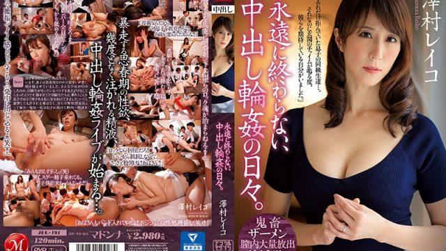JUL-191 japanese tube porn Daily Creampie G*******g Sex That Never Ends, Ever Reiko Sawamura