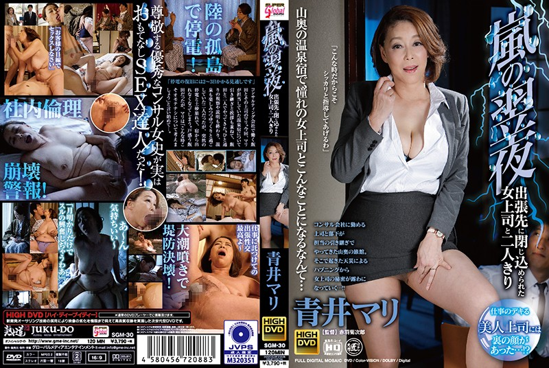 SGM-30 popjav Stuck Overnight in a Room With My Female Boss on a Business Trip During a Storm Mari Aoi
