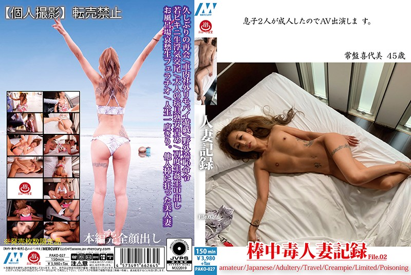 PAKO-027 porn 1080 Married Woman Record File 02
