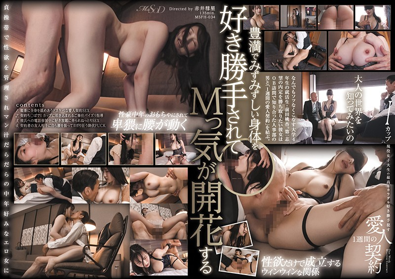 MSFH-034 free asian porn Moa Maeda I Spent A Week Fucking The Shit Out Of An I-Cup Titty Real-Life College Girl And Enjoying Her