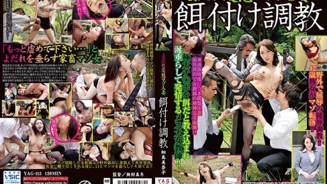 YAG-115 free jav Perverted Drooling Maso Wife – Mating Braking In – Minako Kirishima
