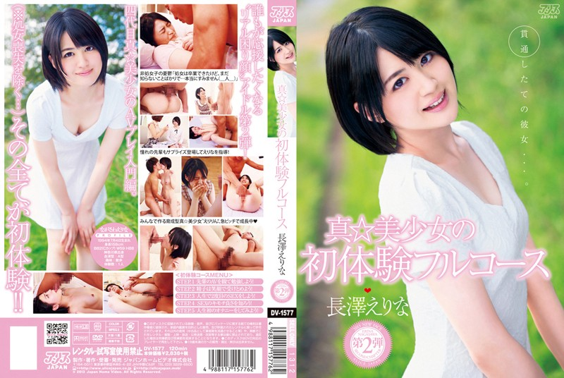 DV-1577 jav porn Serving the Full Course of a Beautiful Girl's First Experiences Erina Nagasawa