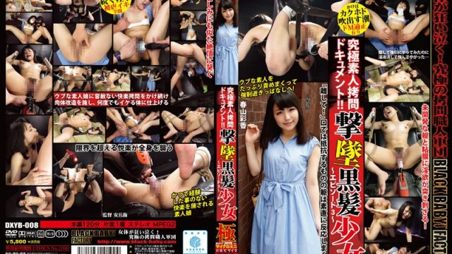 DXYB-008 japanese porn video Ayaka Haruyama The Ultimate Amateur Torture Documentary! Barely Legal Black-Haired Beauty Goes Down In Flames!
