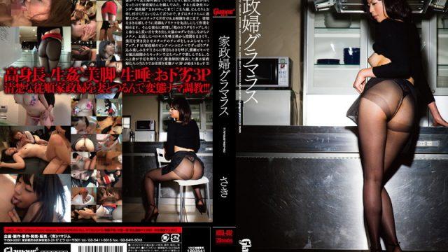 HMGL-082 japanese sex movies Glamorous Housekeeper. Saki