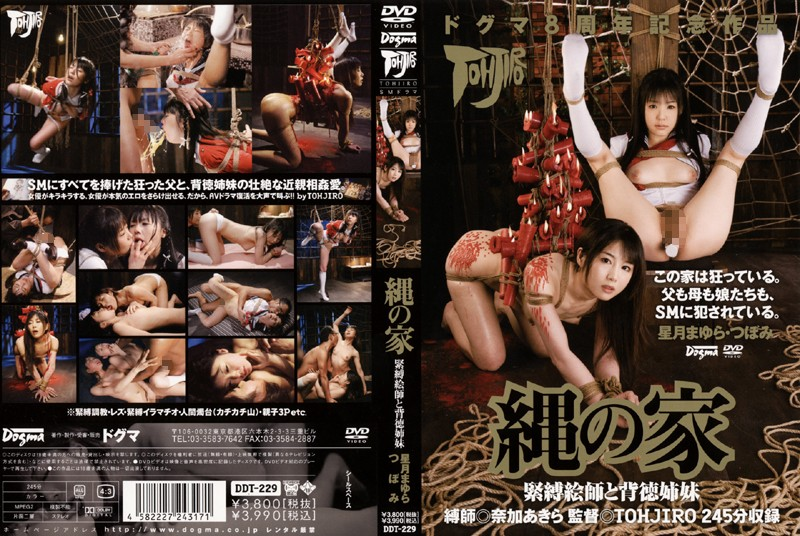 DDT-229 jav watch Rope House: S&M Painter & Immoral Stepsisters Mayura Hoshimura Tsubomi