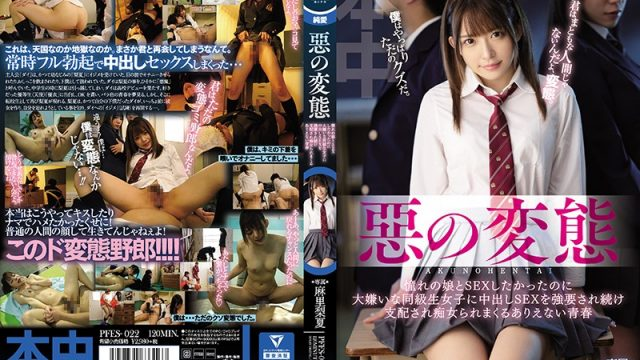 PFES-022 jav me Rika Mari Yui Tomita An Evil Pervert I Wanted To Have Sex With This Girl That I Had Always Been Pining For, But My