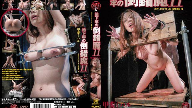 ADVO-044 japan porn Pervert in the Dungeon 11 Miharu Kai