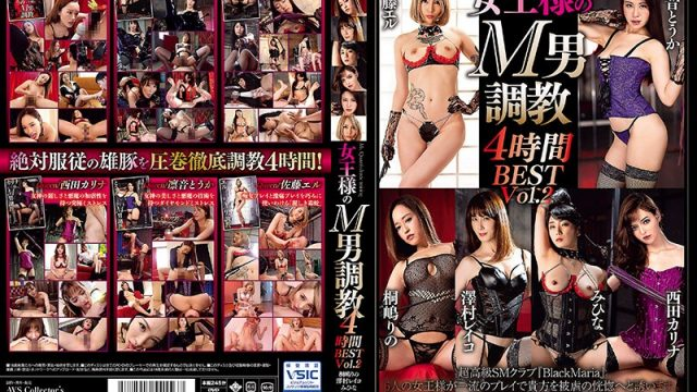 AVSA-165 hd jav Breaking In The Queen's Masochistic Men: 4 Hours BEST vol. 2