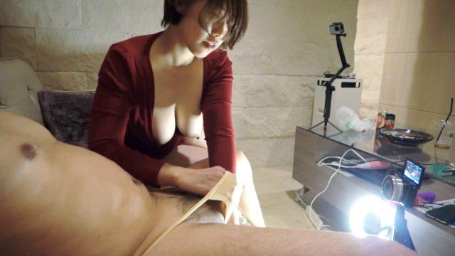 FC2 PPV 1755497 【着衣x巨乳】赤いワンピースからはみ出るスライム乳❤️虚ろな目でチ○ポをしゃぶり続ける具合のいい女❤️初めてのクリバイブで失神痙攣 購入特典あり