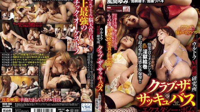 VECR-003 japan av Yumi Kazama Kaoru Natsuki (Tsubaki Kato) Ultra Masochistic Sensual Research Lab The Succubus Club: Ecstasy Bomb! ~ The Violent Lust Of Horny